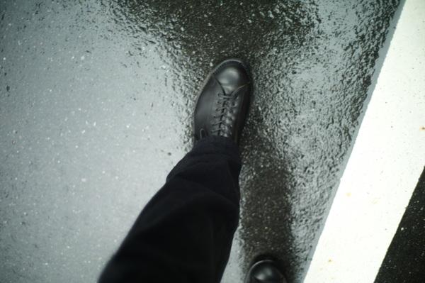 梅雨時の事。